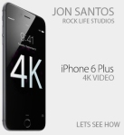 4k video for iphone?